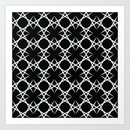Graphic Art Pattern-P2-C2 Art Print