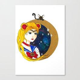 Sailor Babe Canvas Print