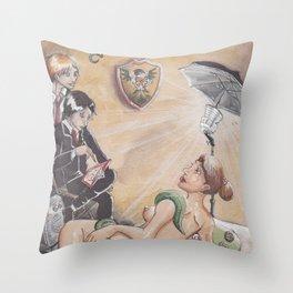Hamatusa High Scool Throw Pillow