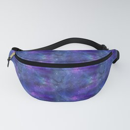 Watecolor Space Nebulae Fanny Pack