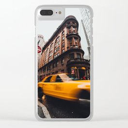 New York Second Clear iPhone Case