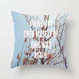 song for zula Throw Pillow