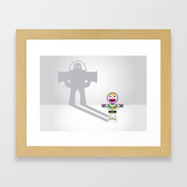 Childhood Belief Framed Art Print