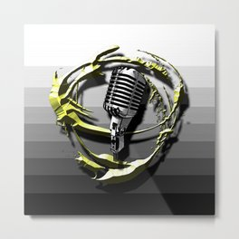 Music - Vocals Metal Print