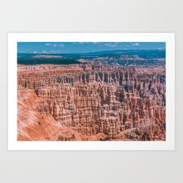 On the Mountain Top Art Print