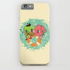 The Pond Lovers - Mr. Froggy and Ms Goldfish iPhone 6s Slim Case