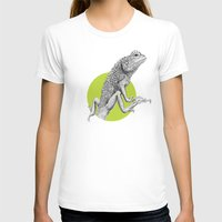 lizard T-shirts featuring Lizard by HanYong