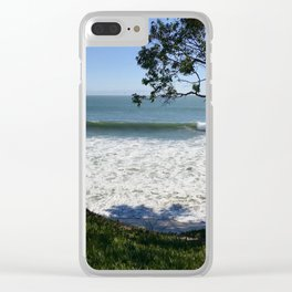 COASTAL HOPE: Ocean View Clear iPhone Case