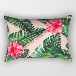 Aroma Hibiscus of Greek islands Rectangular Pillow