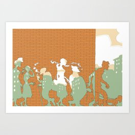 The Wall Art Print