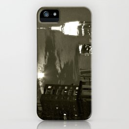 NYC under the moon iPhone Case
