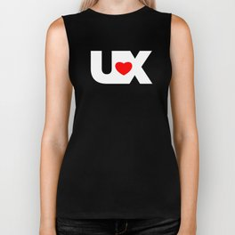 I Love UX Biker Tank