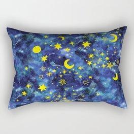 Stars That Can Laugh Rectangular Pillow
