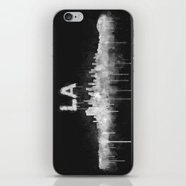 Los Angeles City Skyline HQ v5 WB iPhone Skin