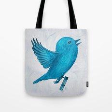 The Original Twitter - Painting Tote Bag