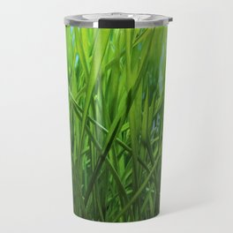 Wheat Grass in Motion Travel Mug