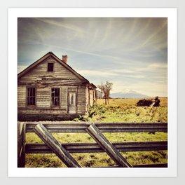 Remembering Mt. Shasta Art Print