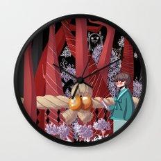 Tale of the Fiend - Shinsekai Yori Wall Clock