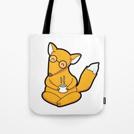 Little Fox Tea Time Tote Bag