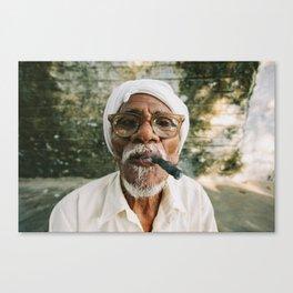 Stogie Canvas Print