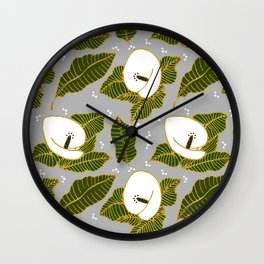 Floral forever Wall Clock