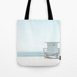 Lifeguard Beach Hut Tote Bag