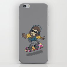 teen wolf on a hover board iPhone & iPod Skin