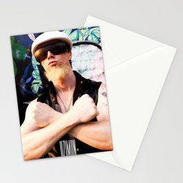 The Human Gun Stationery Cards