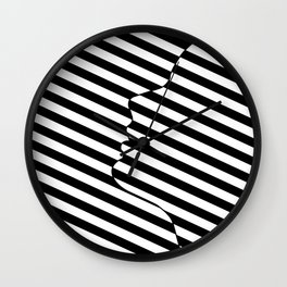 Side face Wall Clock