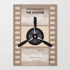 No618 My The Aviator minimal movie poster Canvas Print