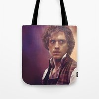 enjolras Tote Bags featuring Enjolras by Julia Bland