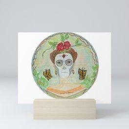 Frida Catrina Mini Art Print