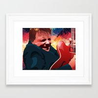marty mcfly Framed Art Prints featuring Marty McFly by Stephanie Keir