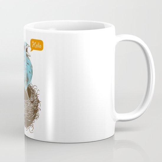 Twisty Bird Mug