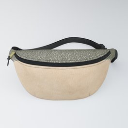 Vermont Moon Minimalism Moss Green Beige Fanny Pack