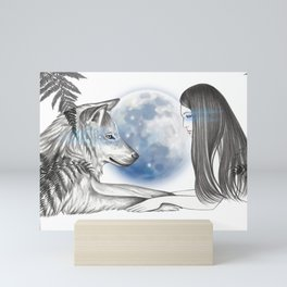Twin Souls Mini Art Print