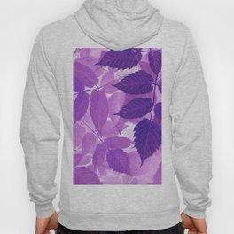 Ultra Violet Purple Leaves Hoody