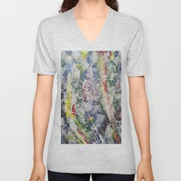 Abstract 99 Unisex V-Neck