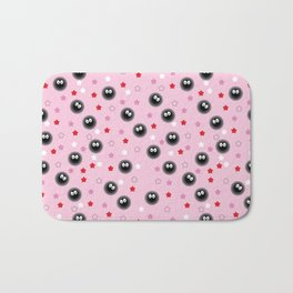Valentine Soot Ball - Spirited Away Bath Mat