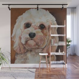 Emme The Cavapoo Wall Mural