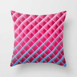 Deep Magic Grid 06 Throw Pillow