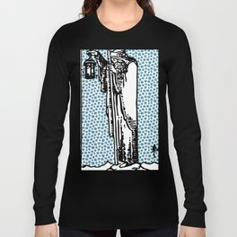 Modern Tarot Design - 9 The Hermit Long Sleeve T-shirt