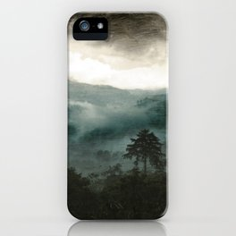 Above the Clouds and Beyond iPhone Case