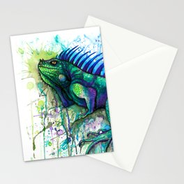 Iguana Stationery Cards