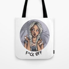 F*ck Off Tote Bag