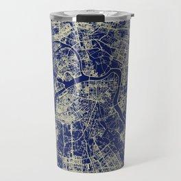 Saint Petersburg Street Map Travel Mug