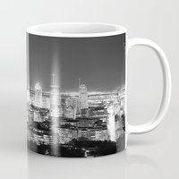 metropolis Mugs featuring Metropolis by Kristofferson Brice