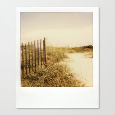 Florida Beaches - Polaroid Canvas Print