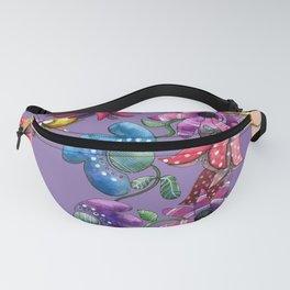 I Love the Flower Girl Lavender Fanny Pack