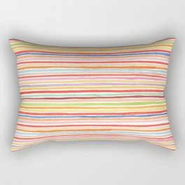 Robayre Watercolor Lines Rectangular Pillow